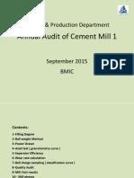 Annual Audit of CM 1