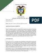 2014-016 Jonathan David Chavez vs Saldcoop Revoca Sancion Por Cumplimiento
