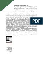 Depresión intrahospitalaria1