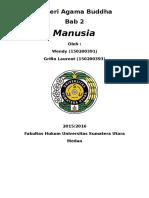 Bab 2 Manusia (Buddha)2