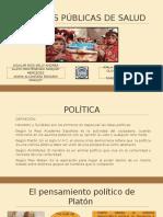 Políticas Públicas de Salud ...Finall