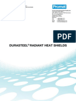 TN0055 DURASTEEL Radiant Heat Shields