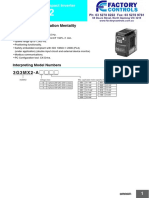 MX2 Variable Speed Drive Datasheet
