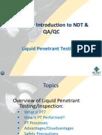 Liquid Penetrant TestingMod1
