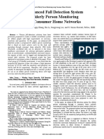 An Enhanced Fall Detection System for Elderly Person Monitoring Using Consumer Home Networks