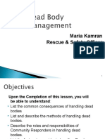 Lesson 8 _ Dead Body Management.ppt