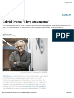 Gabriel Orozco- _Llevo Años Muerto_ - Babelia - EL PAÍS