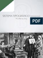 10 Sistema Tipografico