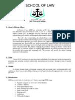 L J SCHOOL OF LAW