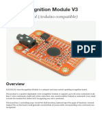Voice recognition module vr3 Manual