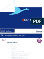ASIA_RESA Web Basics Training_V1.0