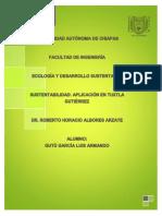 Universidad Autónoma de Chiapas Ecología