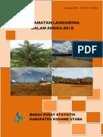 Kecamatan Langgikima Dalam Angka 2015
