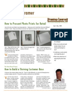 Framing Newsletter Vol 1 Iss 4