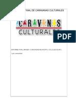 Informe Final de Caravanas Culturales 2013 Zoquitlan