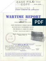 N.a.C.a. Advance Confidential Report No.L5C08a - 1945-04 - Flight Investigation of Boundary-layer Transition and Profile Drag of an Experimental Low-drag Wing Installed on a Figher-type Airplane