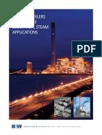 Radiant Boiler High Pressure Boiler for Power Plants