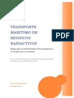 Transporte Maritimo de Residuos Radiactivos