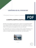 Lesiones en El Windsurf
