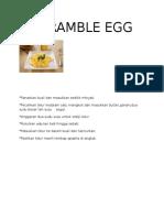 Scramble Egg