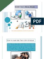 200-310 Cisco Real Exam Questions