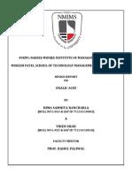Design Report 1