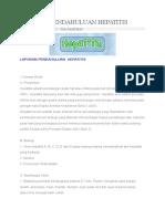 Laporan Pendahuluan Hepatitis.3docx