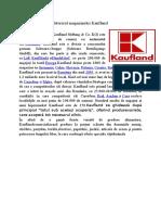 Istoric Kaufland