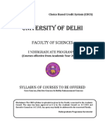 B.sc. Prog. With Electronics - Faculty of Science