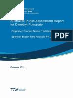 Auspar Dimethyl Fumarate 131022