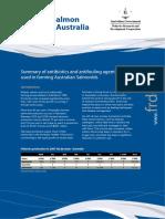 Factsheet Atlantic Salmon Health in Australia - Project 2007-246-2