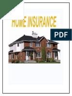 49538773 Deepak Project on Home Insurance