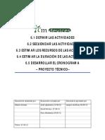 6. Gestión Del Tiempo - Planificación