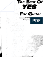(Guitar Songbook) Yes - The Best Of