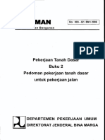 Pedoman Pekerjaan tanah dasar untuk pekerjaan jalan.pdf