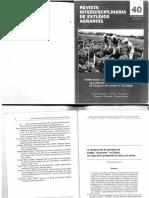 Crovetto (2014) La Construccion de Mercados de Trabajo Rururbanos en Chubut