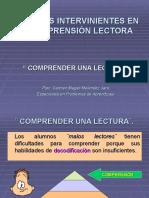 Factores Intervinientes en La Comprension Lectora 1198333428590495 5