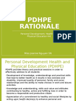 PDHPE Rationale