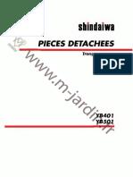 yb401 iseki shindaiwa part list