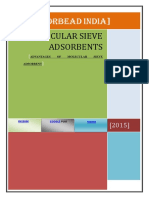 Advantages of Molecular Sieve Adsorbents