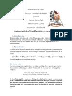 Reporte Del Filtro IIR Proc Señales