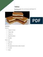 Prăjitura Cu Bulion
