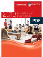 Business & Economics Program Information Leaflet