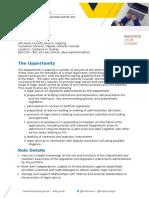 Job Information Pack - APS4-6 Lawyer