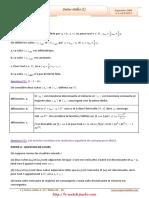 Serie+d'exercices+Corrigés+-+Math+-+Suites+réelles+1+-+4ème+Math+(2009-2010)