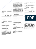 Questionnaire Science 2