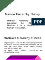 Maslow , Vaishali