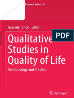 (Social Indicators Research Series 55) Graciela Tonon (Eds.)-Qualitative Studies in Quality of Life_ Methodology and Practice-Springer International Publishing (201