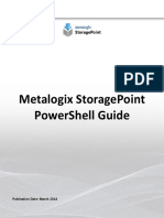 StoragePoint Powershell Command Reference