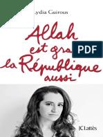 Allah Est Grand La Republique a - Lydia Guirous